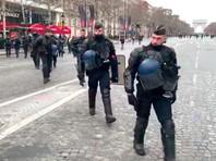 В Париже перед Новым годом значительно усилят меры безопасности