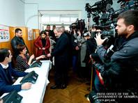"""В Армении опубликованы окончательные результаты выборов"""" />"""