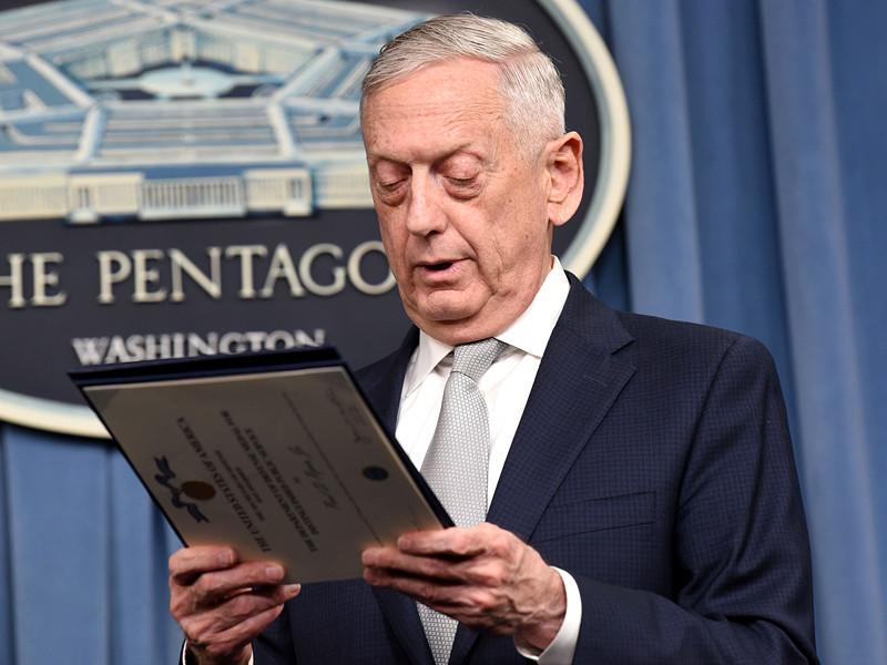 """Трамп назвал причину разногласий с главой Пентагона Мэттисом, из-за которых тот подал в отставку"""" />"""