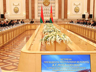 """""""А некоторые напрямую говорят: вы пока не готовы, чтобы шестью областями [войти] в состав России. Ну, значит, и точка"""", - сказал Лукашенко на пресс-конференции для российских журналистов в Минске"""