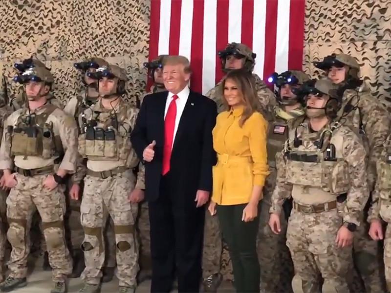 Дональд Трамп заявил во время визита в Ирак, что Соединенные Штаты не могут оставаться мировым полицейским