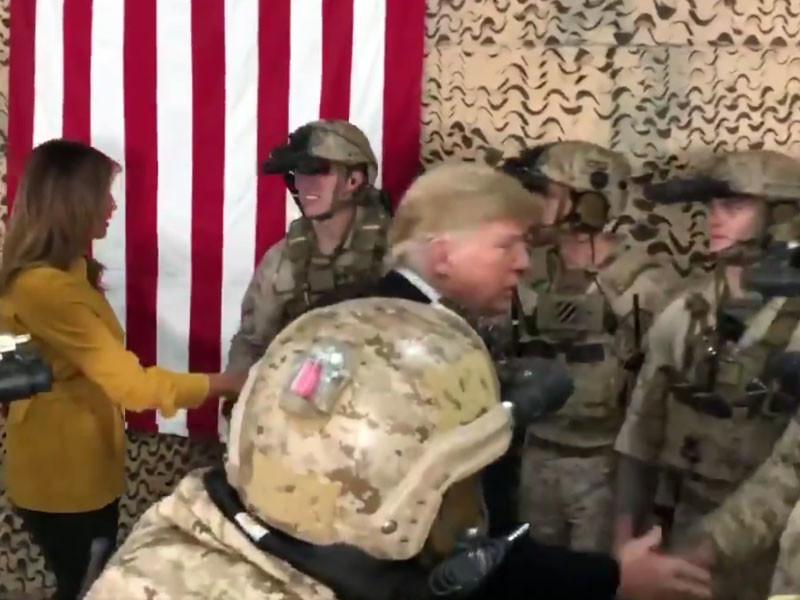 """Эксперты обвинили Трампа в раскрытии секретных данных об американском спецназе в Ираке (ВИДЕО)"""" />"""