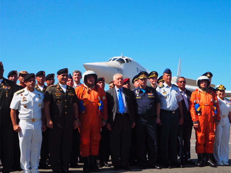 Россия впервые с 2013 года направила в Венесуэлу стратегические бомбардировщики