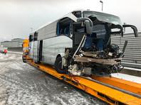Десять россиян пострадали в ДТП с автобусом в Швейцарии