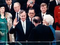 """Умер американский президент-долгожитель Джордж Буш-старший. При нем была """"Буря в пустыне"""", рухнул СССР и закончилась холодная война"""" />"""