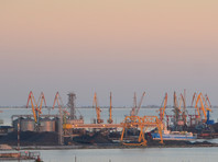 Украинские порты Бердянск и Мариуполь вдвое сократили грузопоток из-за действий России в Керченском проливе, утверждают в Киеве