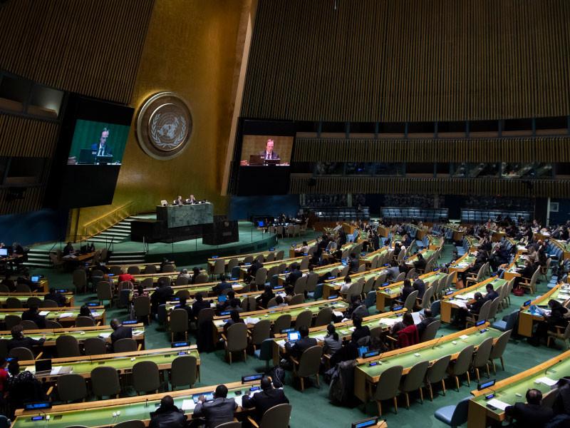 Генассамблея ООН приняла украинскую резолюцию о милитаризации Крыма Россией