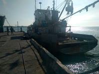 """25 марта 2018 года Госпогранслужба Украины задержала в Азовском море российский сейнер """"Норд"""" с 10 членами экипажа на борту"""