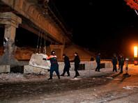 В Донецке неизвестные подорвали 1 января железнодорожный мост (ФОТО)