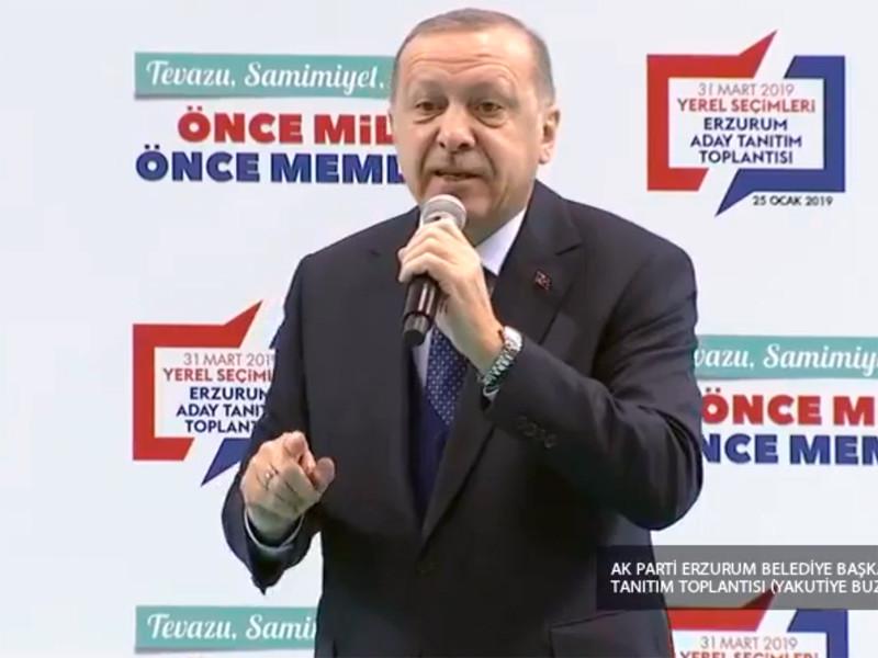 Турция готова собственными силами создать зону безопасности в Сирии, заявил турецкий президент Реджеп Тайип Эрдоган в Эрзуруме 25 января