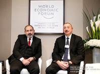 Лидеры Армении и Азербайджана провели в Давосе неофициальную встречу по Карабаху