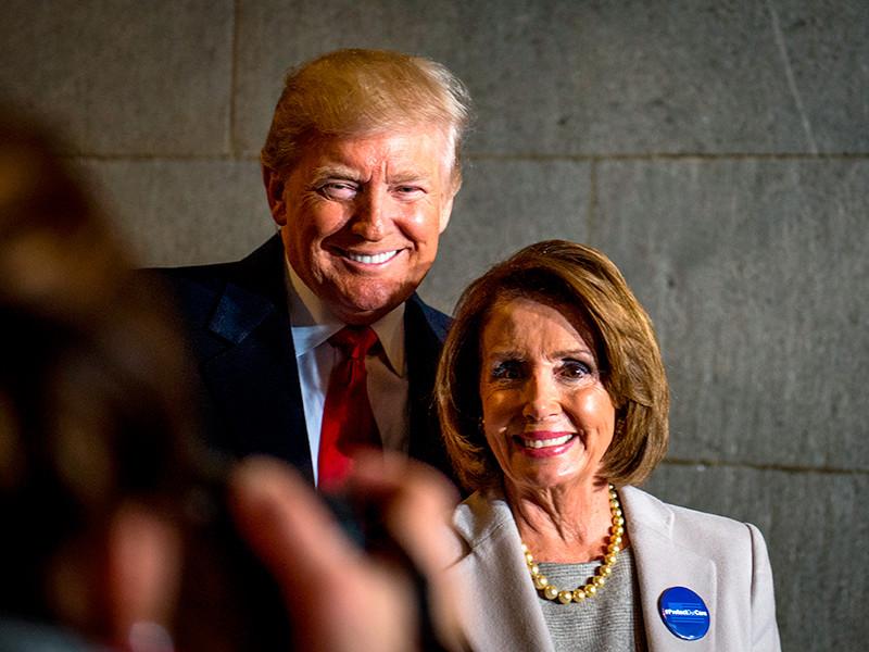 """Демократы отказались обсуждать инициативы президента Трампа до прекращения шатдауна"""" />"""