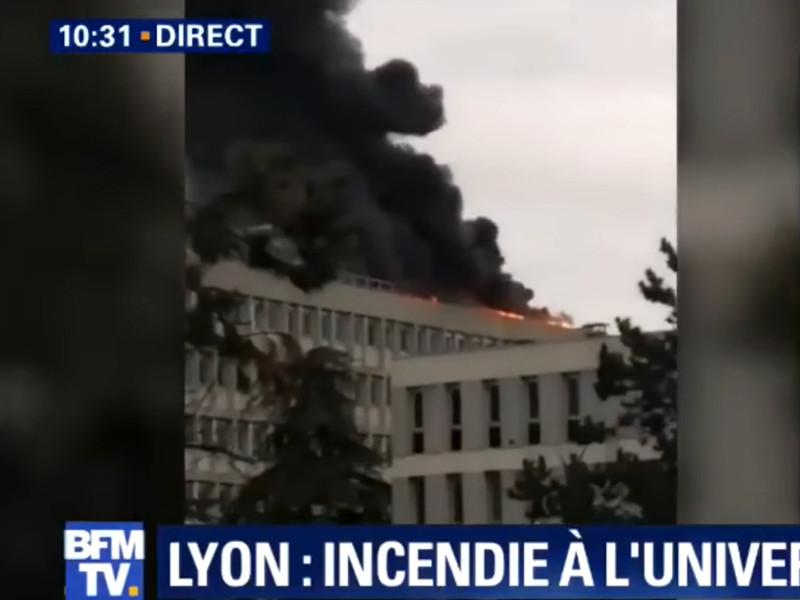 В Лионском университете произошла серия взрывов