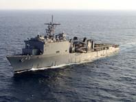 В Черное море направлен десантный корабль ВМС США