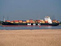 Пираты похитили шестерых членов экипажа контейнеровоза MSC Mandy в Гвинейском заливе, все похищенные - россияне