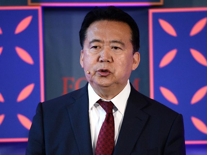 """Жена экс-главы Интерпола, находящегося под следствием в Китае, попросила политического убежища во Франции"""" />"""