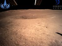 """Китайский космический аппарат """"Чанъэ-4"""" (Chang'e-4) первым в мире совершил успешную посадку на обратной стороне Луны, не видной с Земли, и уже прислал оттуда первые снимки"""