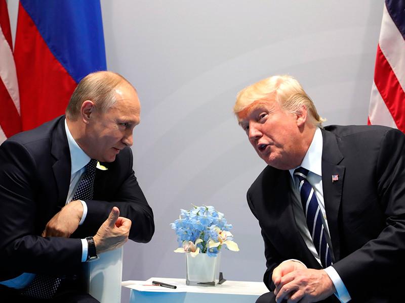 Комитет Палаты представителей решил заняться содержанием переговоров и бесед Трампа с Путиным