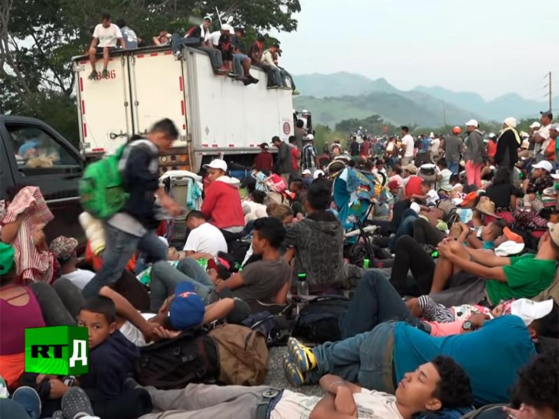 """В Гондурасе формируется новый """"караван мигрантов"""" для отправки в США, войска останутся на границе до конца сентября"""" />"""