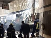 Пожар и взрыв в поезде на вокзале Каира привел к многочисленным жертвам