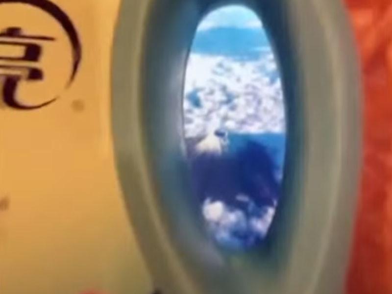 В Китае повально увлеклись фейковыми селфи из самолета