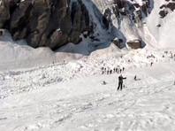Лавина накрыла нескольких лыжников на швейцарском горном курорте Кран-Монтана