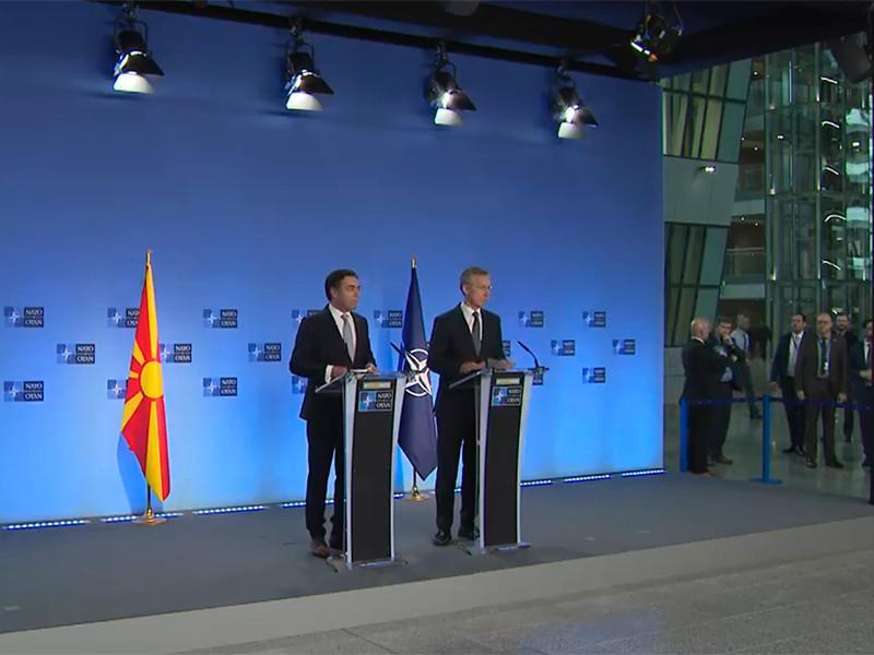 Македония начала процедуру вступления в НАТО