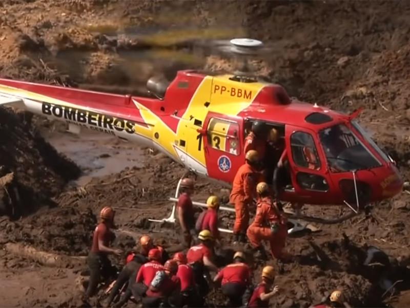 """В результате прорыва дамбы в Бразилии погибли 110 человек, еще 238 пропали без вести (ФОТО, ВИДЕО)"""" />"""
