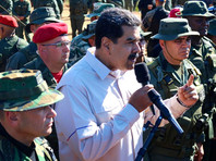 Перед началом маневров в прибрежном штате Миранда действующий президент Николас Мадуро ознакомился с образцами военной техники, имеющимися на вооружении венесуэльской армии