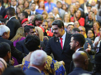 В сложившейся ситуации он призвал Россию и другие страны не совершать сделок с президентом Николасом Мадуро по нефти и золоту