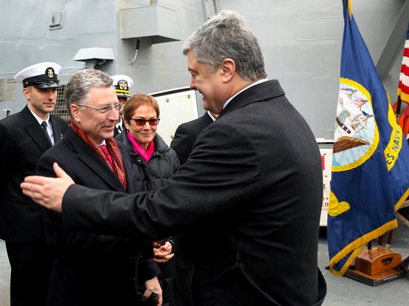 """США будут ужесточать санкции против России, пока она не вернет Крым, сказал Курт Волкер"""" />"""