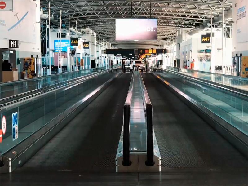 Аэропорты Бельгии закрыты на сутки из-за забастовки