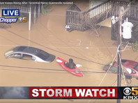 """""""Русское"""" наводнение в Калифорнии: дома затоплены по крыши, тысячи жителей эвакуированы (ВИДЕО, ФОТО)"""