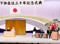 """""""Мы проводим эту церемонию, чтобы вместе с народом отпраздновать эту знаменательную дату"""", - отметил во вступительном слове премьер-министр Японии Синдзо Абэ"""