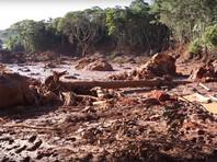 В результате прорыва дамбы в Бразилии погибли 110  человек, еще 238 пропали без вести (ФОТО, ВИДЕО)