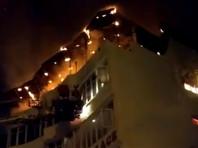 В отеле в Нью-Дели вспыхнул пожар, погибли 17 человек (ФОТО, ВИДЕО)