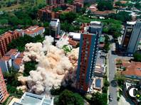 В Медельине по распоряжению властей Колумбии снесли огромный дом наркобарона Пабло Эскобара