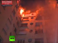 В Париже десять человек погибли при пожаре, устроенном неадекватной жительницей дома (ФОТО, ВИДЕО)
