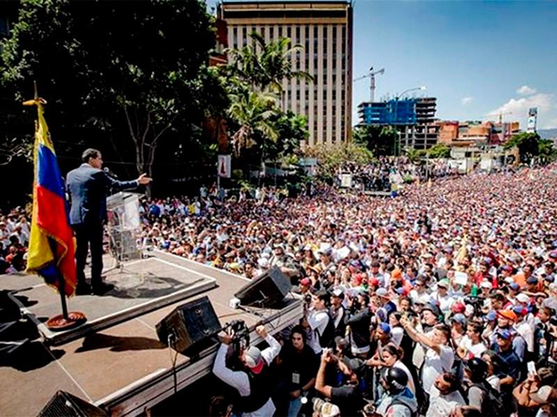 Каракас, 3 февраля 2019 года