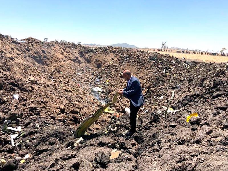 Потерпел крушение Boeing 737 авиакомпании Ethiopian Airlines, летевший в Найроби