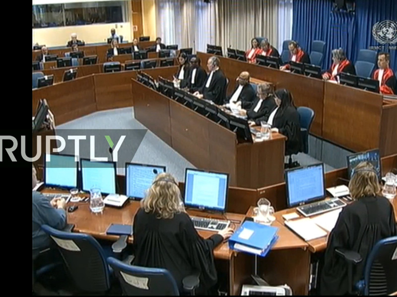 """Трибунал в Гааге ужесточил приговор Радовану Караджичу с 40 лет до пожизненного заключения"""" />"""