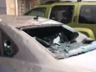 Град размером с бейсбольный мяч побил окна и автомобили в штатах Оклахома и Техас (ФОТО, ВИДЕО)