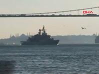 Корабли НАТО вошли в Черное море для совместных учений с Украиной (ВИДЕО)
