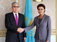 Дочь Назарбаева Дарига стала спикером сената парламента Казахстана