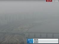 Южная Корея шесть дней окутана смогом: экстренные меры по борьбе с микропылью результата не дали (ВИДЕО)