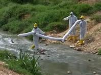 От токсичных паров из реки на юге Малайзии пострадали более тысячи человек (ВИДЕО)