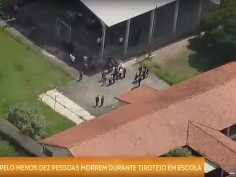 В Бразилии двое подростков устроили бойню в школе, после чего совершили суицид