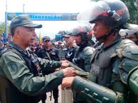 Командующий Национальной гвардией Венесуэлы генерал Ричард Лопес Варгас