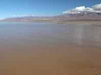 В самом сухом месте США неожиданно обнаружилось огромное озеро (ФОТО, ВИДЕО)
