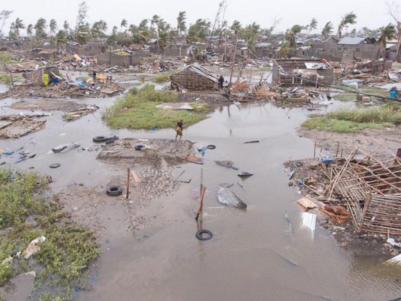 """На юго-востоке Африки, дважды пережившем удары тропического циклона """"Идай"""", продолжаются катастрофические наводнения"""
